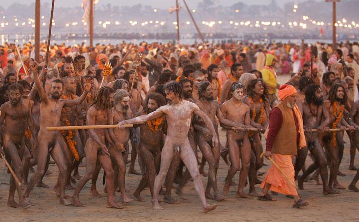 Ganges river ritual bathing