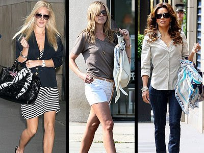 Casual seems effortless for Jennifer Aniston. Take a cue from Heidi Montag,