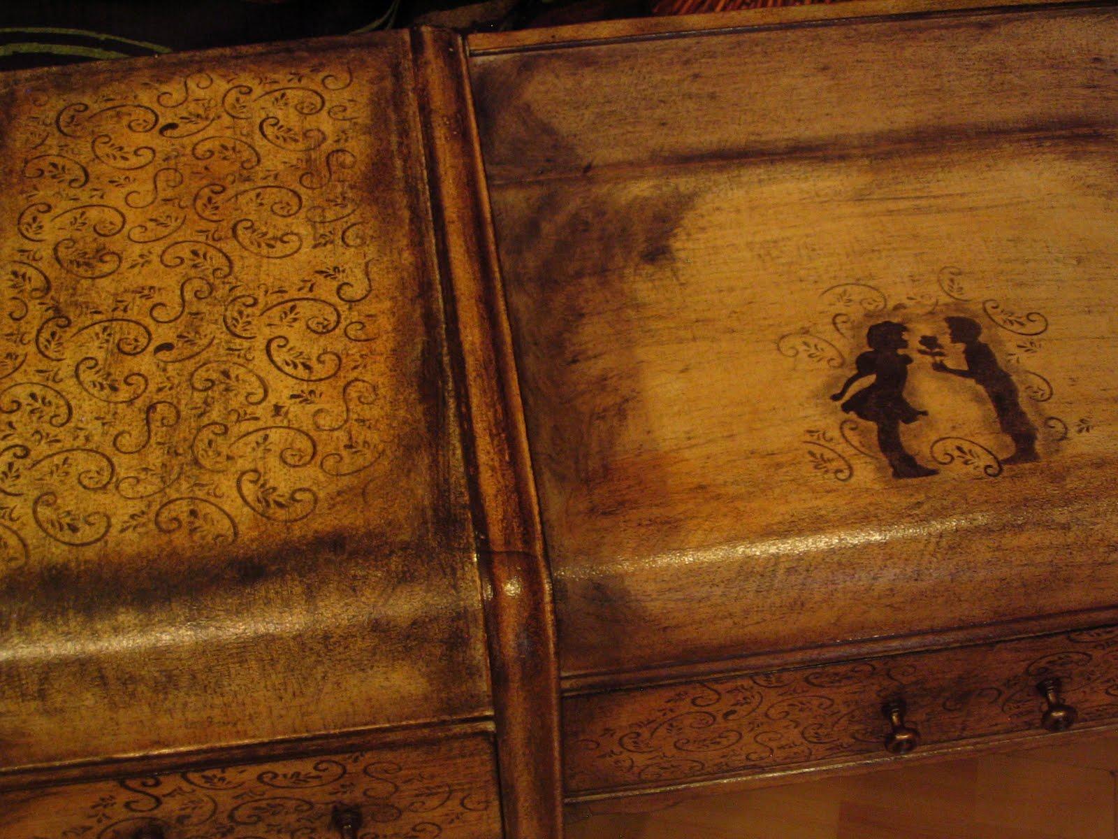 Funky Furniture: 1930u0026#39;s vanity, one of my favorites. Coat ...