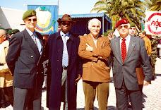 MR, TCor. COMANDO Marcelino da Mata, Cor. COMANDO Durão e Gen. COMANDO  Almeida Bruno
