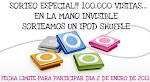 Sorteo especial 100.000 visitas en La mano-invisible!