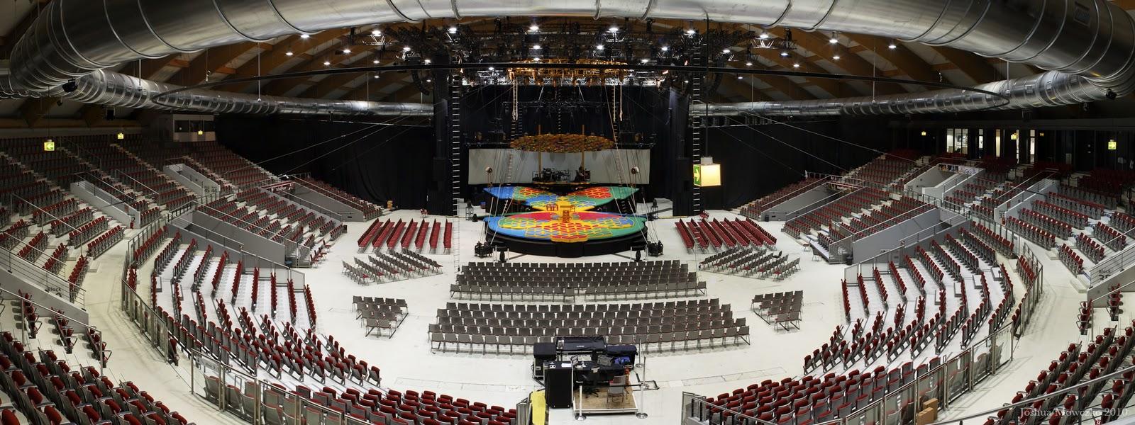 Life in the Circus: Salzburg Arena: Salzburg, Austria