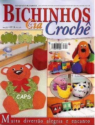 Download - Revista Bichinhos em Crochê n.4