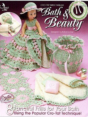 Download - RevistaCrochet - Tatting with Thread BATH & BEAUTY by Bella Crochet