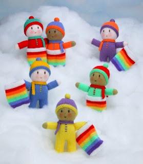 Que graça - Bonecos em tricot