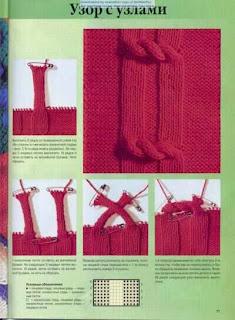 Fantástica esta receita em tricot