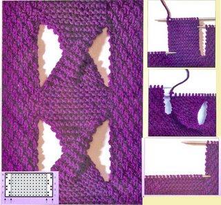 Tantas tranças em tricot...