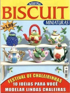  Biscuit Miniatura - Chaleiras