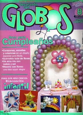 Download - Revista  Decorando com globos n.8