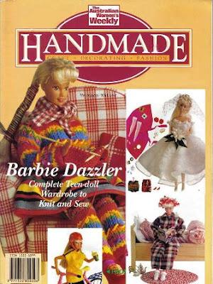 Download - Revista Roupas de tecido com moldes para Barbie