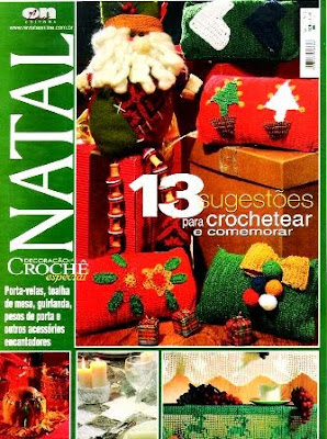 Download - Revista  Crochet - Natal