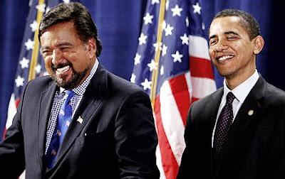 أوباما و ريتشردسون
