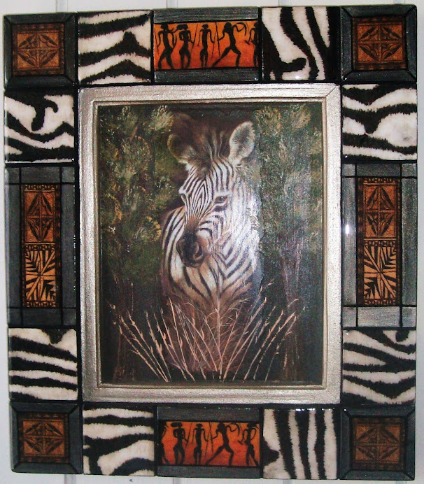 cuadro etnico zebra