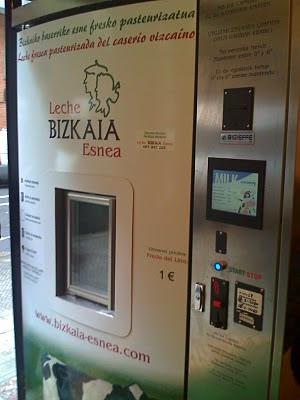 maquina expendedora leche fresca