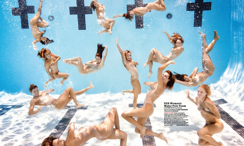 ESPN Body Issue Water Polo