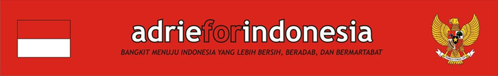 adrie for indonesia