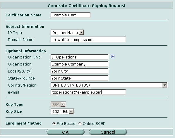Firewall Guru: Creating Self Signed Certificates for your Firewalls