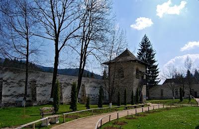 Romania:Voronet Monastery