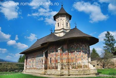 Romania Moldovita Monastery