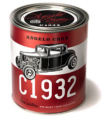 Hot Rod in a tin