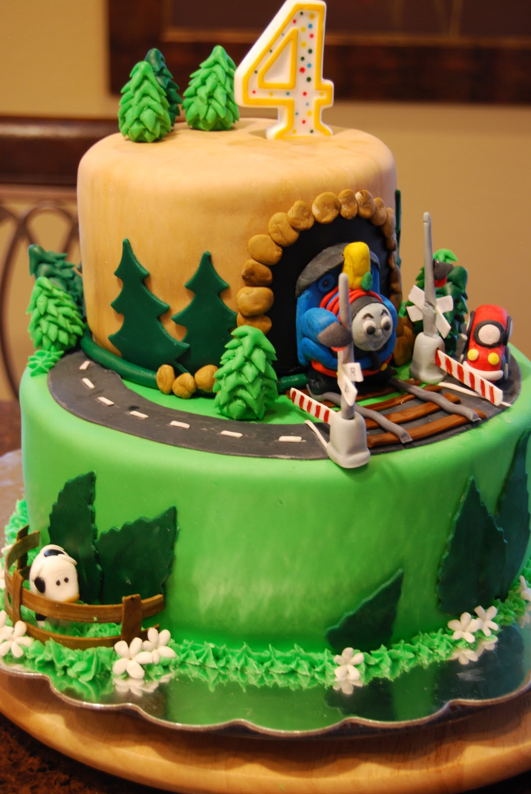 Cake Images Of Thomas The Train : Gamma Susie s This n That: Thomas The Train Cake with ...