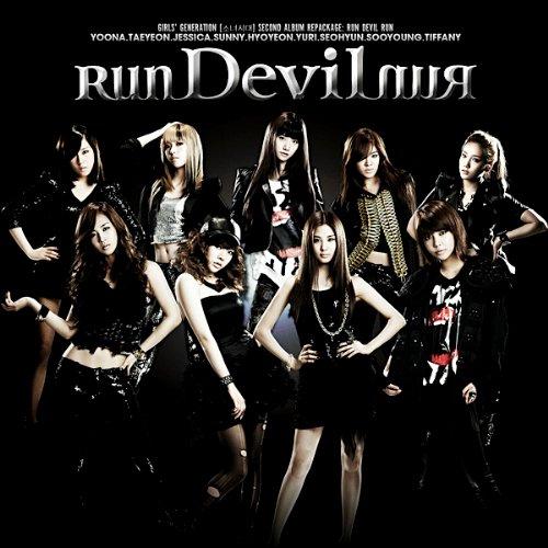 سنــسد اغبى فرقة عواجز على الارض .. ليهــ ادخل واعرف ؟ Girls-Generation-SNSD-Run-Devil-Run-Album-Cover