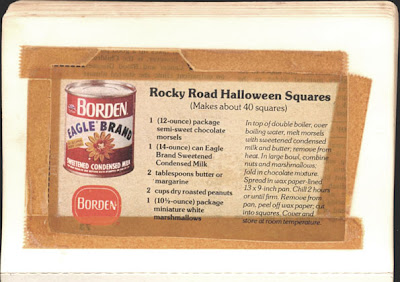 Memere S Favorite Recipes Rocky Road Halloween Squares