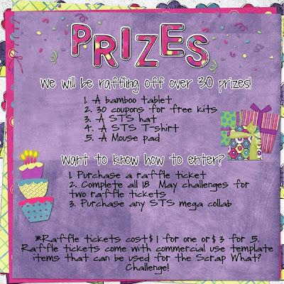 raffle prize flyer template