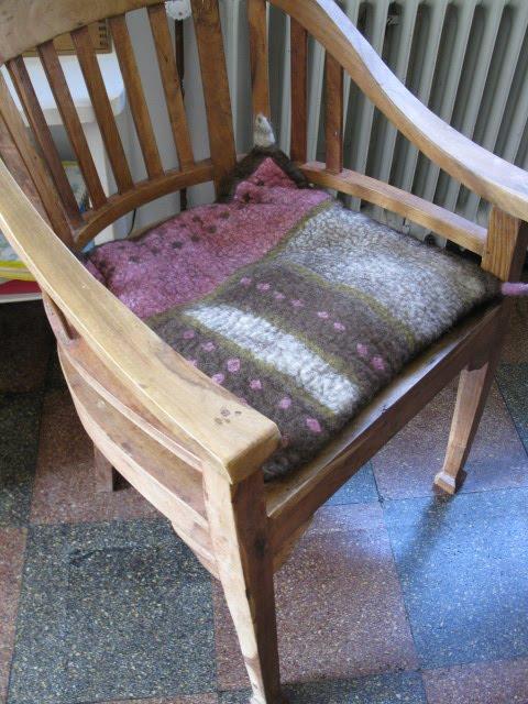filzkram filzkissen f r den eigenbedarf. Black Bedroom Furniture Sets. Home Design Ideas