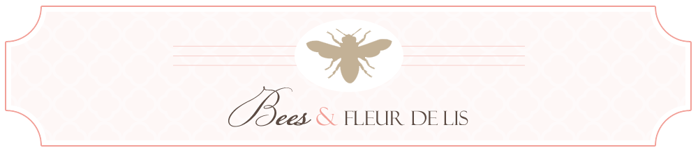 Bees and Fleur de lis