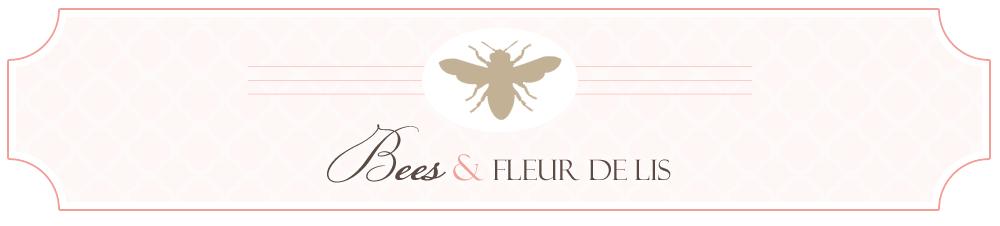 Bees and Fleur de lis