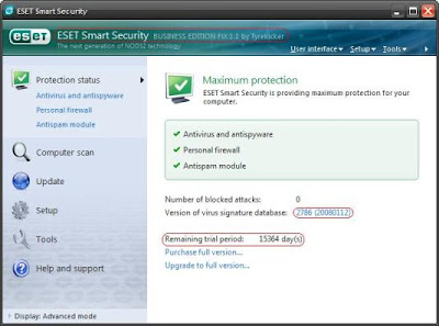 Exc] ESET Nod32 y Smart Security Business Edition 3.0.6 Español/No