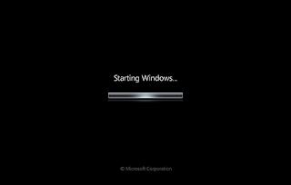 Windows 7 Boot Screen para Vista
