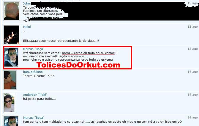 Tolices do Orkut
