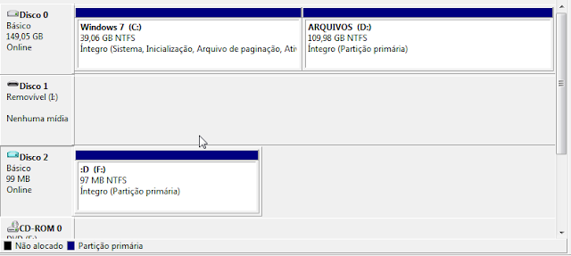 Acessando Arquivos .VHD Windows 7