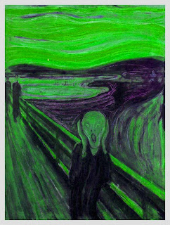 With apologies to Edvard Munch.