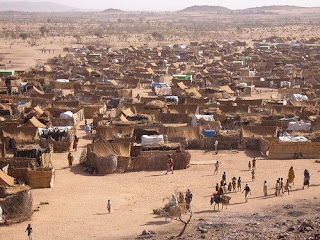Refugee camp in Chad.