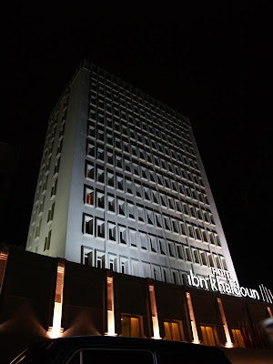 Ibn khaldoun hotel,Tunis, Lafayette by night, Tunisia