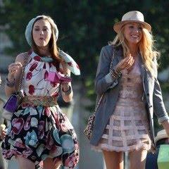 Blake lively e leighton meester: due gossip girl a parigi