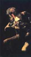 'Saturno devorando a un hijo', Goya