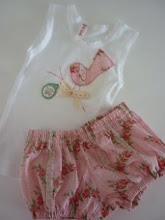 Baby Girl Singlet and Pant Set