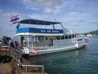 Tauchboot in Phuket
