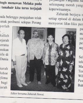 Bersama Novelis Zaharah Nawawi