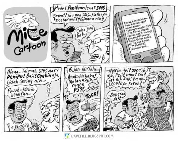 Mice cartoon 03 oktober 2010 kompas