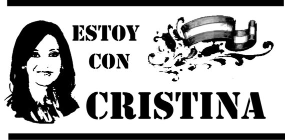 Estoy con Cristina