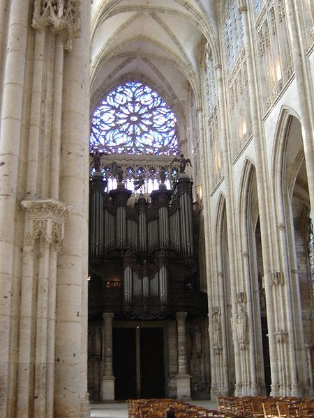 Pipe organs abbey church of saint ouen organ rouen france - Agence saint ouen rouen ...