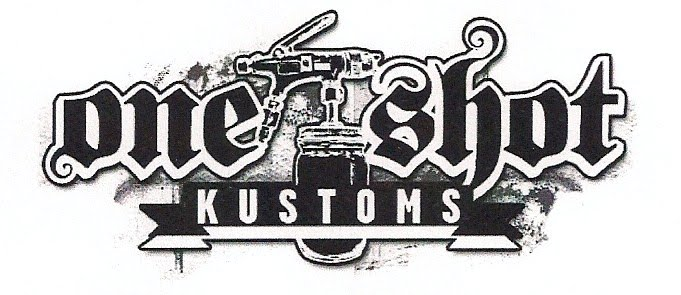Kustom paint by One Shot Kustoms