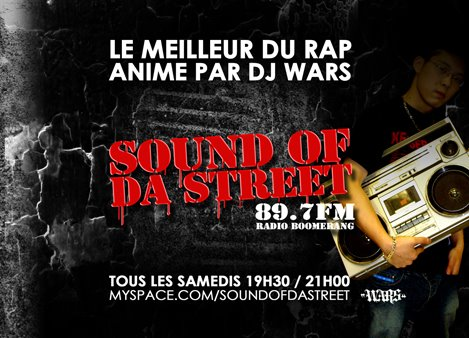 59 émission sound of da street 89.7fm radio boomerang