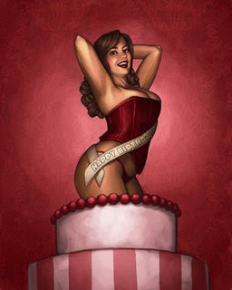 Happy Birthday To Me!.....Happy Mother's Day also lol. Stripper%20cake