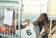 Quais são os gritos que mais se ouvem no Hospital Pediátrico de Luanda?